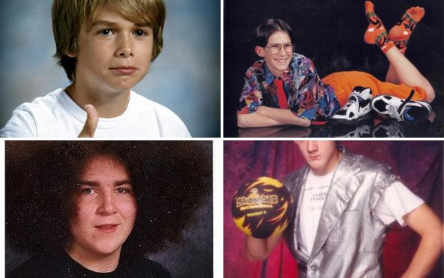 35 awkward school photos thumbs up