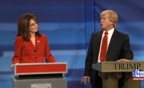 Tina Fey Returns to SNL as Sarah Palin