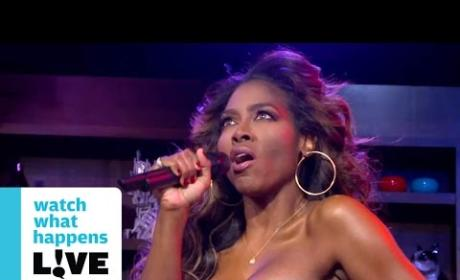"Kenya Moore ""Performs"" Debut Single"