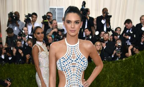 Kendall Jenner: 2016 Costume Institute Gala