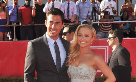 Hayden Panettiere and Scotty McKnight at ESPYs