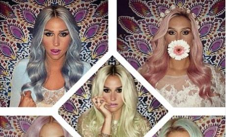 Kesha Hair Montage
