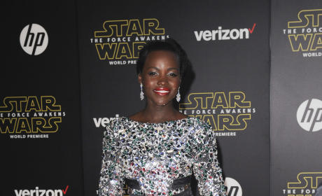 Lupita Nyong'o: 'Star Wars: The Force Awakens' Premiere