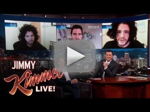 Kit harington judges jon snow impressions