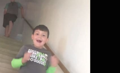 Watch This Mother Tell Her Son That He Just Beat Cancer