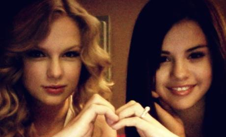 Tay Tay and Selena