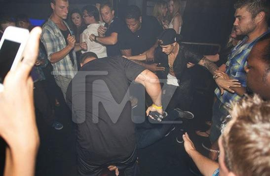 Justin Bieber Nightclub Attack