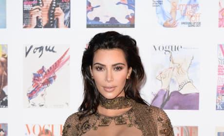 Kim Kardashian is Not Very Shy