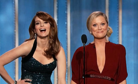 What grade would you give Tina Fey and Amy Poehler as Golven Globe hosts?