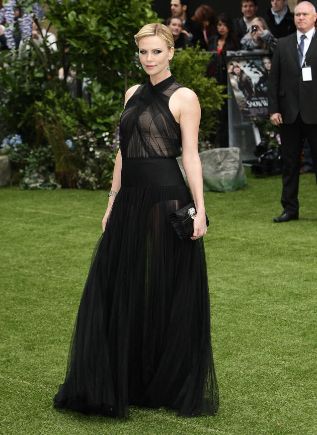 Charlize Theron Premiere Pic