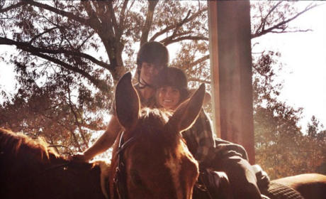 Ian Somerhalder and Nikki Reed Pose on Horses, Continue To Be Super Duper Adorable