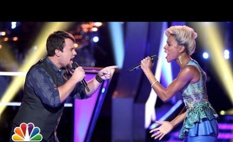 Cole Vosbury vs. Lupe Carroll, E.G. Daily vs. Sam Cerniglia & Ashley DuBose vs. Justin Blake (The Voice Battle Round)