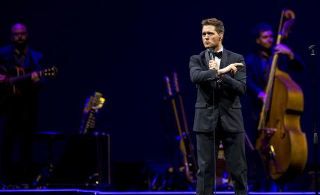 Michael Buble Performs In Rotterdam