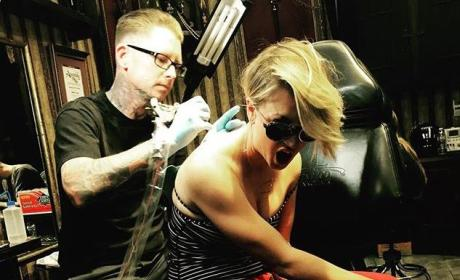 Kaley Cuoco Covers Up Tattoo Tribute to Ryan Sweeting