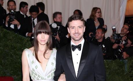 Jessica Biel, Justin Timberlake Photo