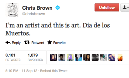 Chris Brown: Tattoo is Art, I'm an Artist!