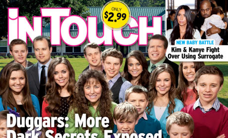Duggar Family In Touch Cover