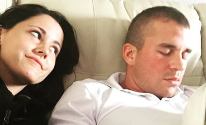 Jenelle Evans Posts Cute Photo of Nathan Griffith Sleeping, World Shrugs