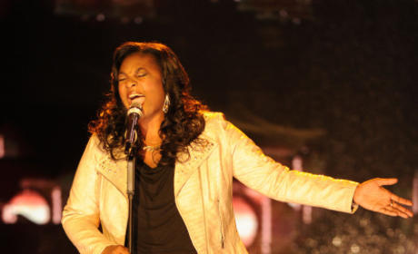 Candice Glover in Action