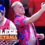 College Bruh Attempts to Snap Perfect Selfie at Basketball Game