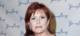 Carrie Fisher Drops 50 Pounds! In Nine Months!
