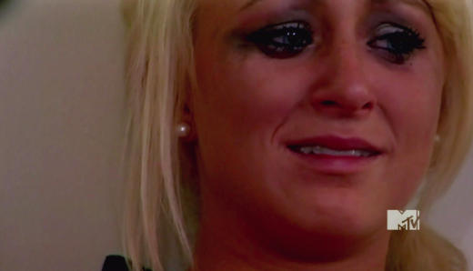 Leah Messer Cries