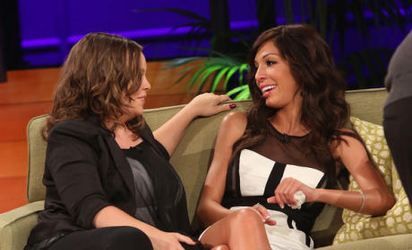 Farrah Abraham and Catelynn Lowell Hug it Out, Quash Teen Mom Beef