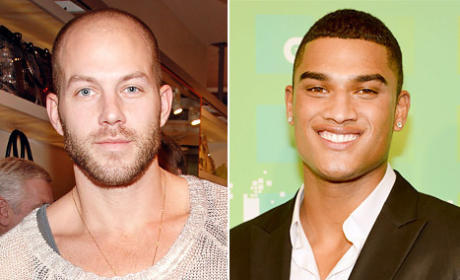 Johnny Wujek and Rob Evans Cast on America's Next Top Model