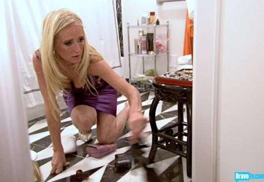Kim Richards is Trashed