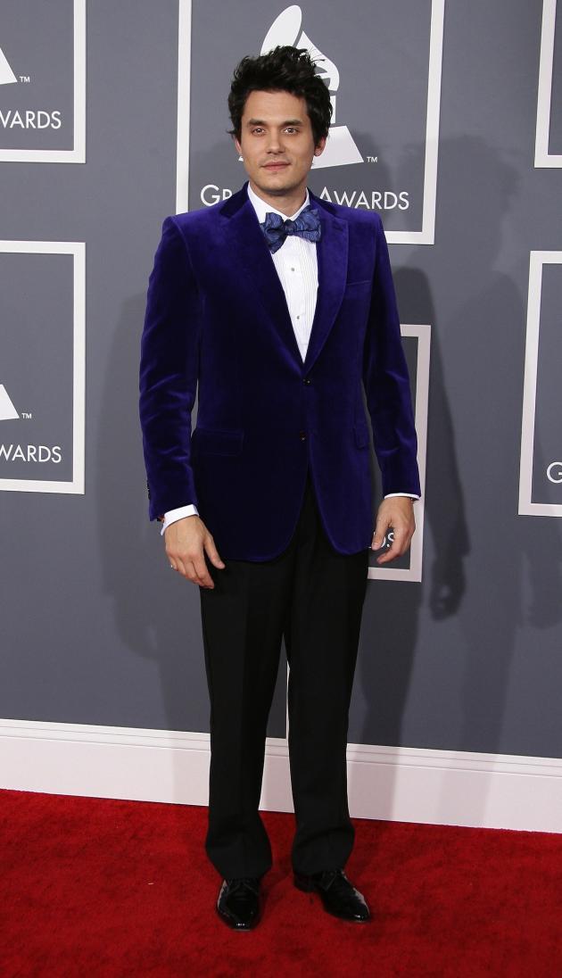 John Mayer Purple Tux Pic