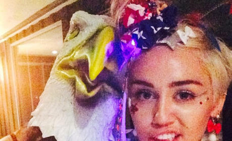 Miley Cyrus, Patriotic Host