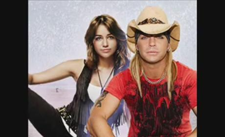 Miley Cyrus and Bret Michaels Duet: Hilarious, Released