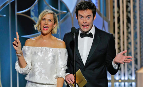 Should Bill Hader and Kristen Wiig host the 2016 Golden Globes?