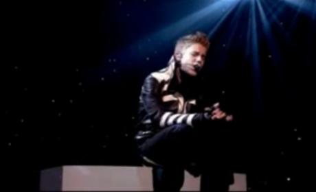 Justin Bieber at the MTV Europe Music Awards