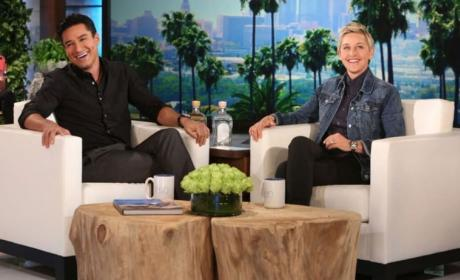 Mario Lopez Plays Coy on Live Co-Hosting Gig