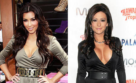Who looked hotter, Kim or J-Woww?