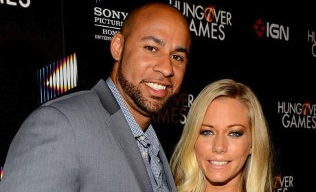 Kendra Wilkinson and Hank Baskett Happy
