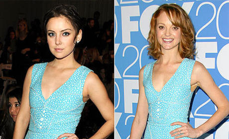 Fashion Face-Off: Jessica Stroup vs. Jayma Mays