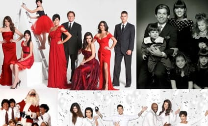 Kardashian Christmas Cards: See Them All!