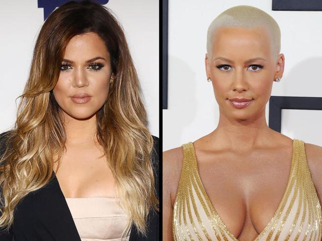 Amber rose vs khloe kardashian