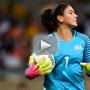 "Hope Solo Taunted by ""ZIKA"" Chants in Olympic Opener"