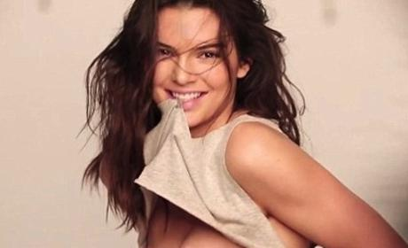 Kendall Jenner Celebrates Instagram Milestone with Intentional Nip Slip