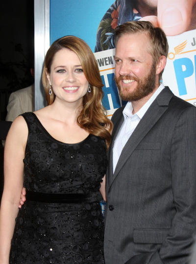 Jenna Fischer and Husband