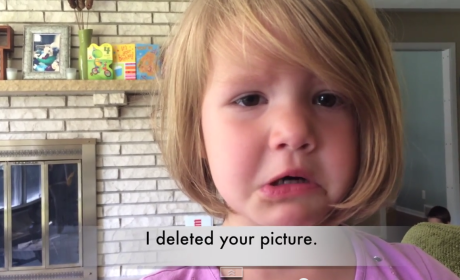 """4-Year Old Learns True Meaning of the Word """"Delete,"""" Begs Uncle Dave for New Photo"""