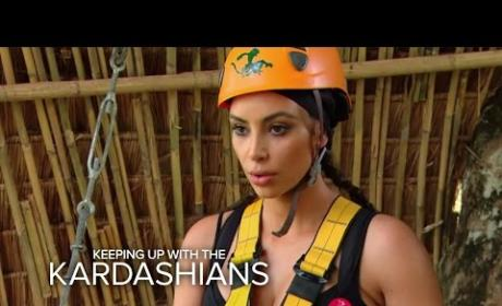 Keeping Up with the Kardashians Klips: Freaking Out, Walking In
