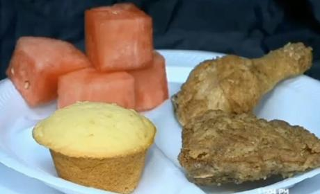 Black History Month School Lunch of Fried Chicken, Watermelon Sparks Controversy