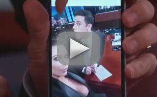 Kim Kardashian Snaps Jimmy Kimmel Selfies