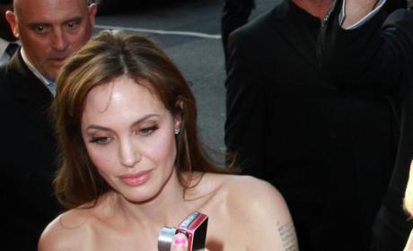 Angelina the Autographer