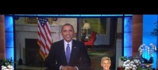 President Barack Obama on Ellen