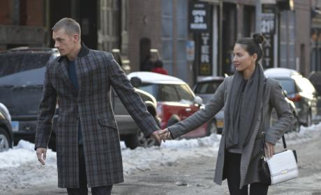 Joel Kinnaman and Olivia Munn